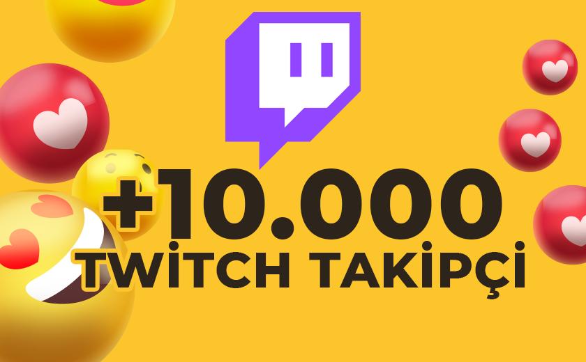 10.000 TWİTCH TAKİPÇİ (GARANTİLİ)