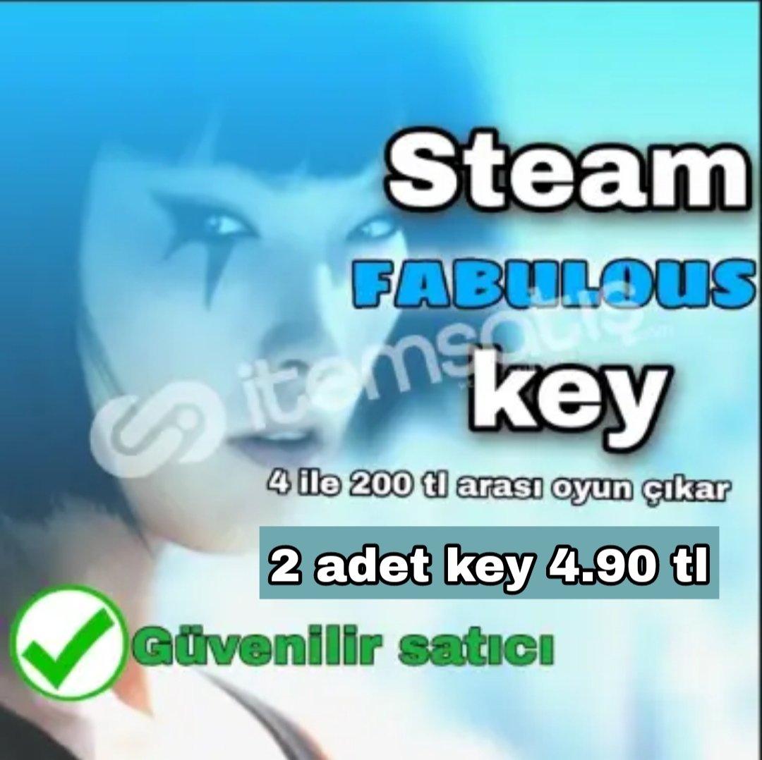 2 TANE Fabulous Key SADECE 4 TL