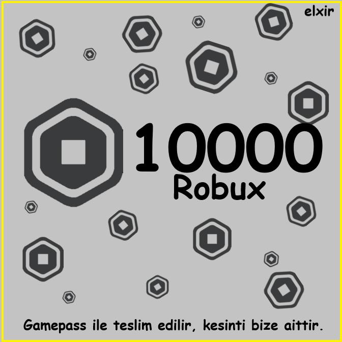 10000 Robux