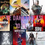 25 Oyun+Sınırsız XBOX Game Pass+Xbox oyunları
