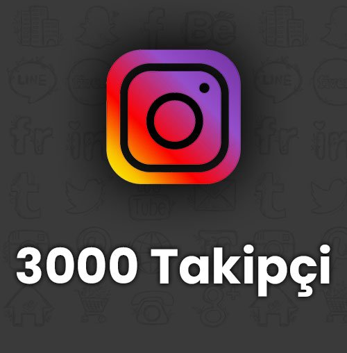 3000 takipçi / anlık