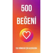 500 INSTAGRAM BEĞENİSİ / TÜRK GERÇEK TAKİPÇİ