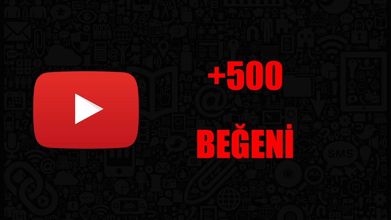 500 YOUTUBE BEĞENİ / KALİTELİ HİZMET