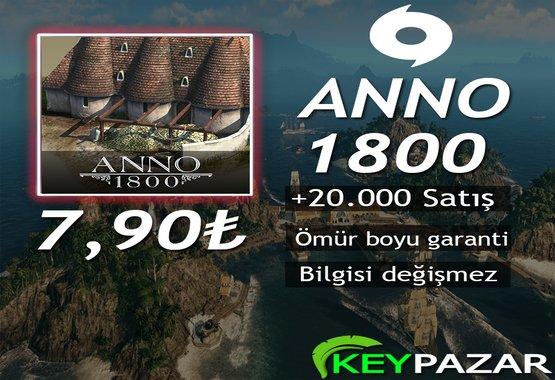 ANNO 1800 ÖMÜR BOYU GARANTİ + HEDİYELİ!