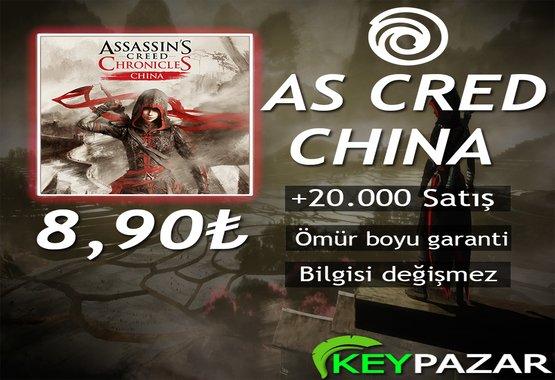 AS CRED CHİNA ÖMÜR BOYU GARANTİ + HEDİYELİ!