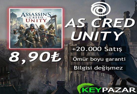 AS CRED UNİTY ÖMÜR BOYU GARANTİ + HEDİYELİ!