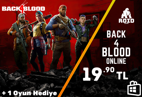 BACK 4 BLOOD Microsoft Hesabı