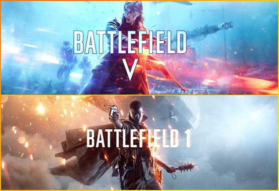 Battlefield 1+5 Online!
