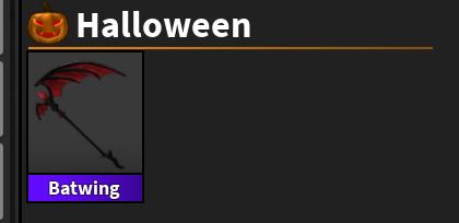 Batwing satılıktır hallowen