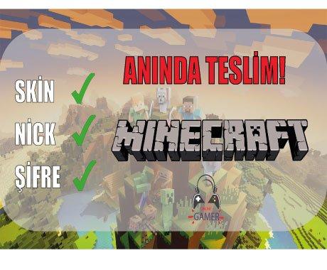 Bilgileri Değişen Minecraft Premium + Hediye.!