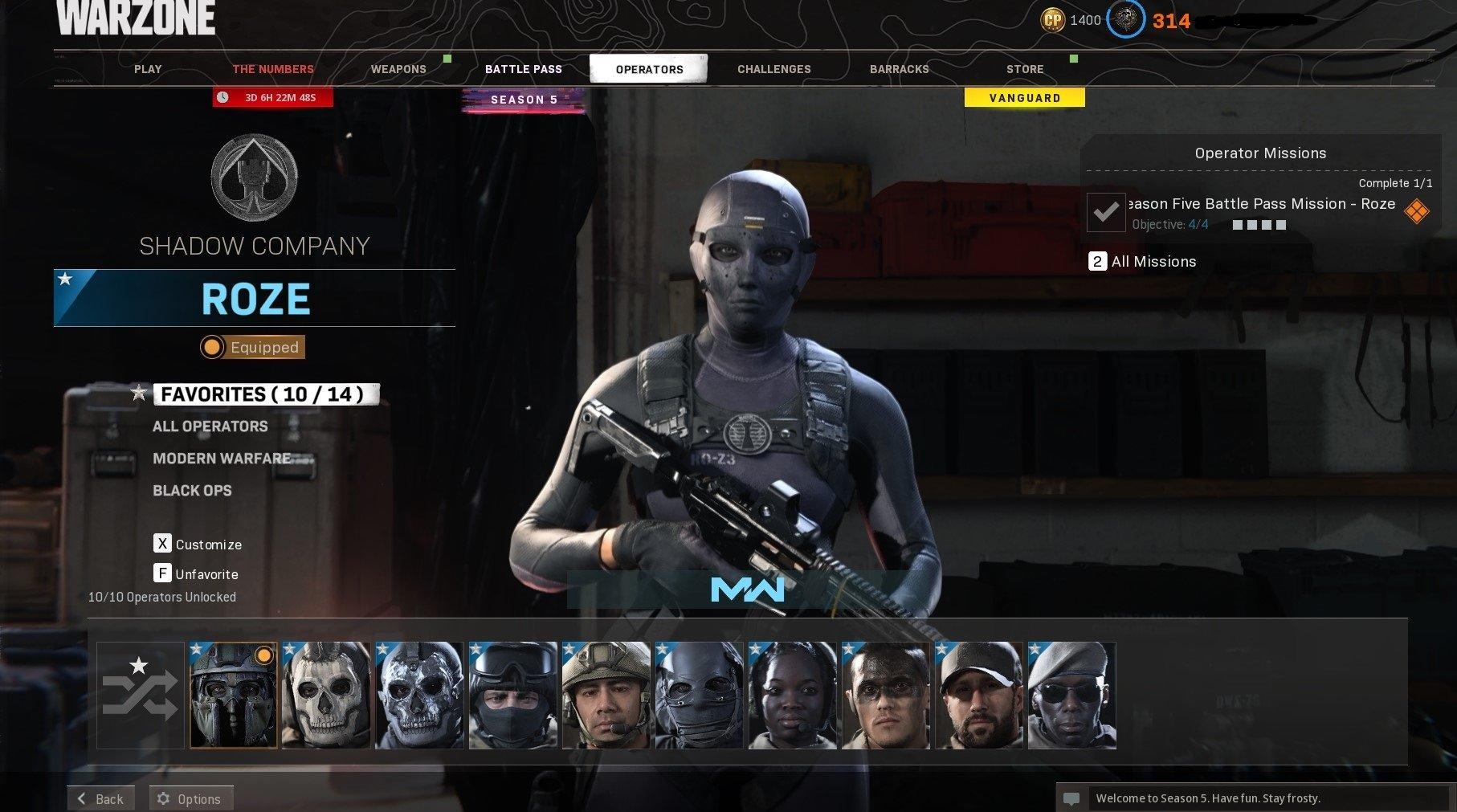 Call of Duty Warzone Bol Skin ve Emek Hesabı