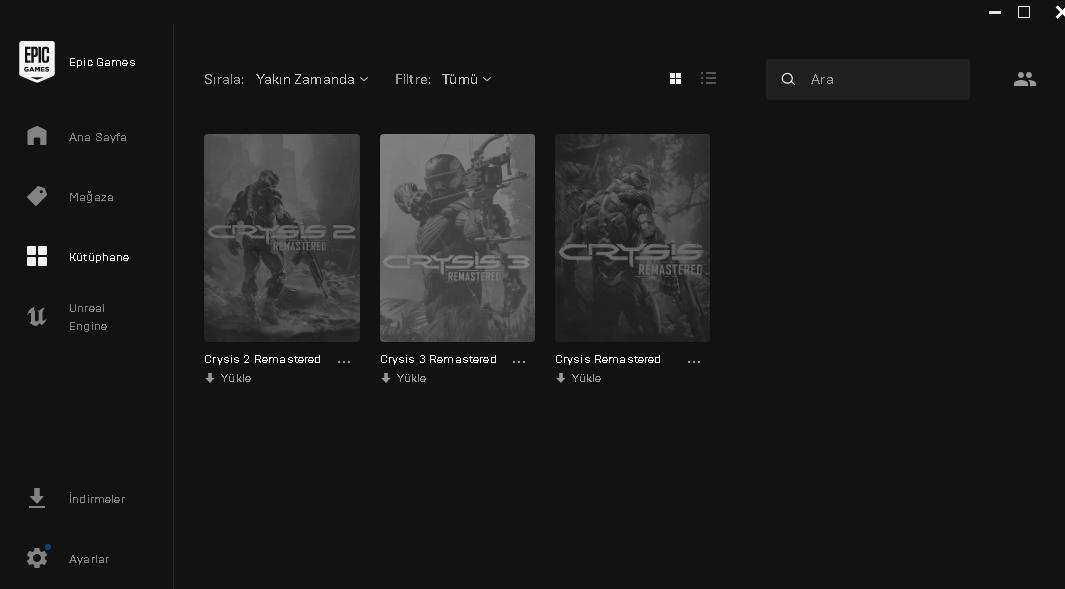 Crysis (Remaster) 3 oyun 1 arada