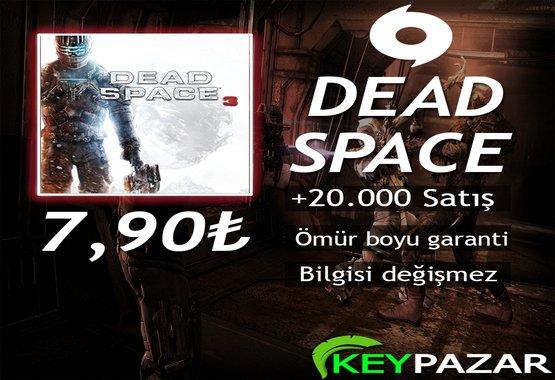 DEAD SPACE 3 ÖMÜR BOYU GARANTİ + HEDİYELİ!