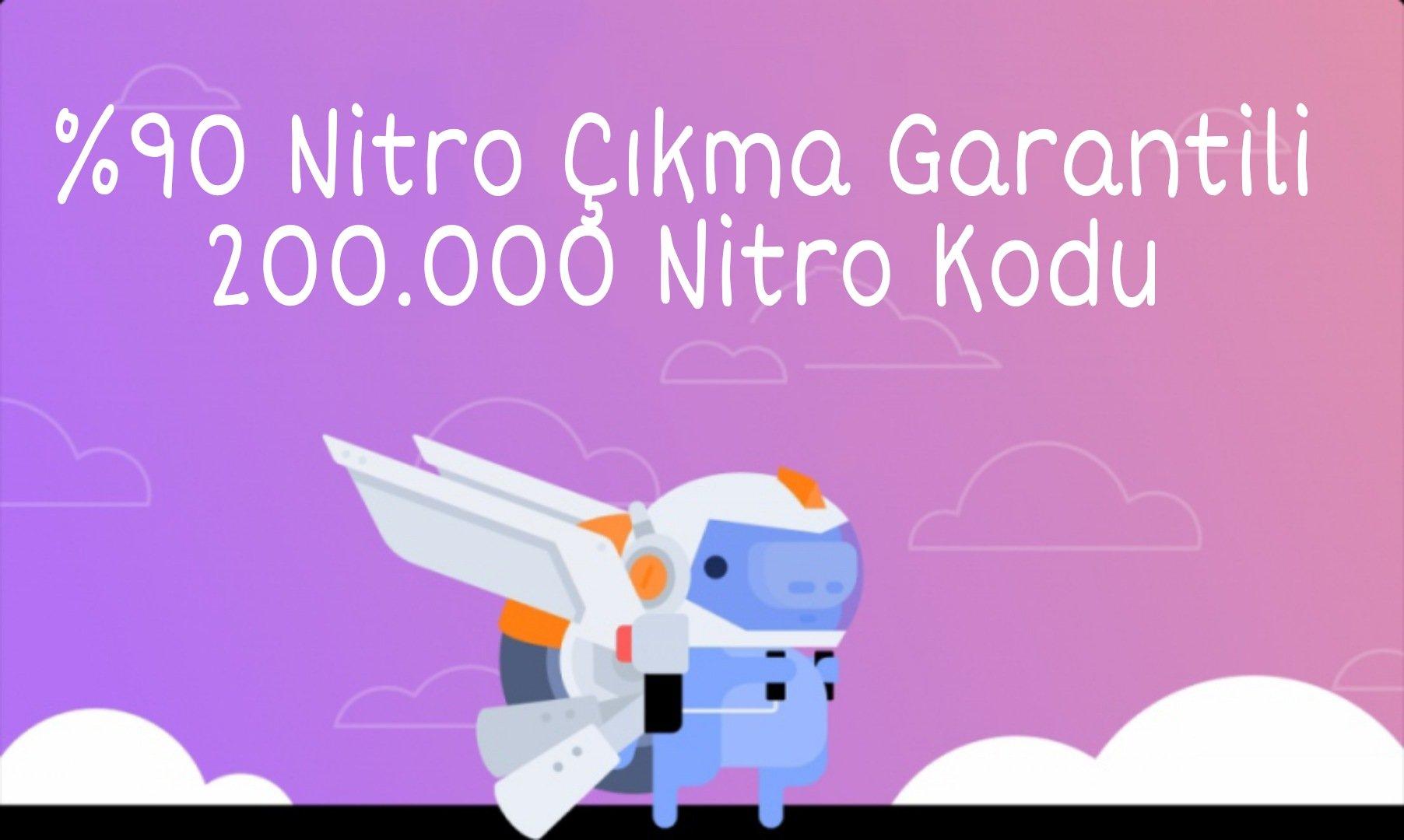 Discord %90 Nitro Garantili Kodlar