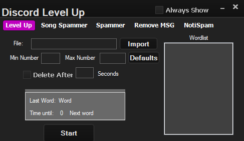 Discord Mee6 Level Programı