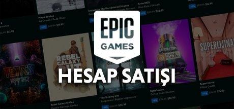 Epic Games • 144 oyunlu Epic Games hesabi!