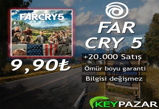 FAR CRY 5 ÖMÜR BOYU GARANTİ + HEDİYELİ!