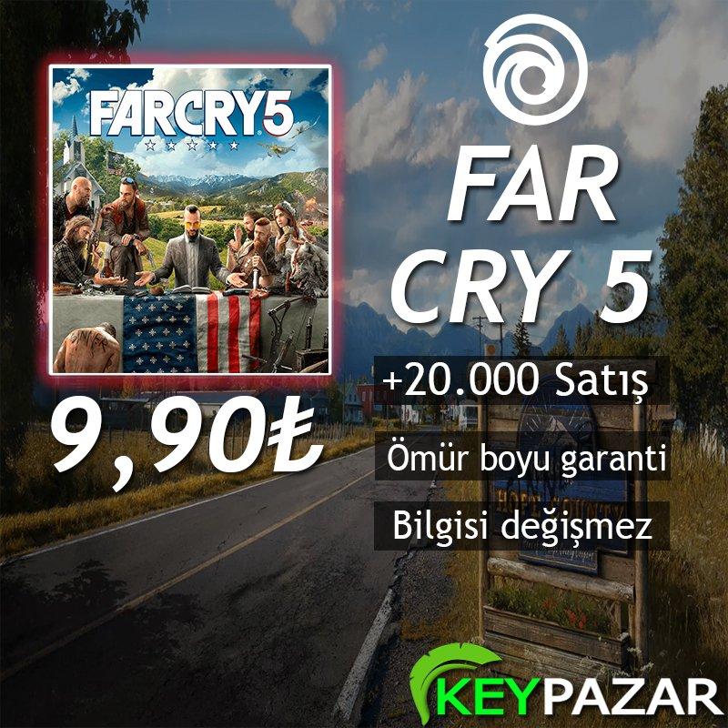 FAR CRY 5 ÖMÜR BOYU GARANTİ + HEDİYELİ! UPLAY