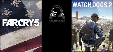 Far Cry 5 / Watch Dogs 2 + Hediye.!