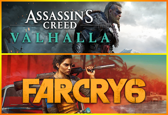 FAR CRY 6 + Assasins Creed Valhalla