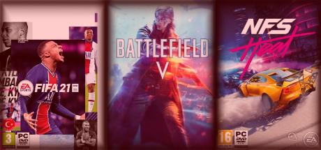 Fifa 21 / Battlefield 5 / NFS Heat