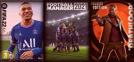 FIFA 22 + FM 21 + DEATHLOOP + Hediye