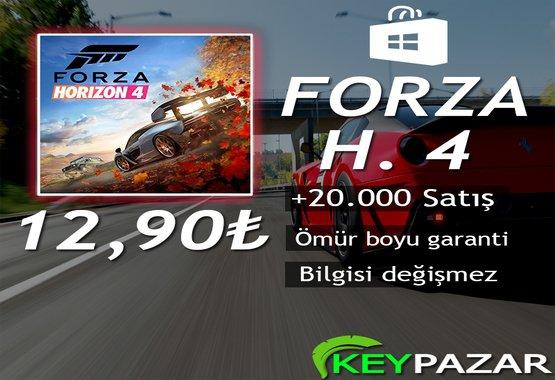 FORZA HORİZON 4 ÖMÜR BOYU GARANTİ + HEDİYELİ!