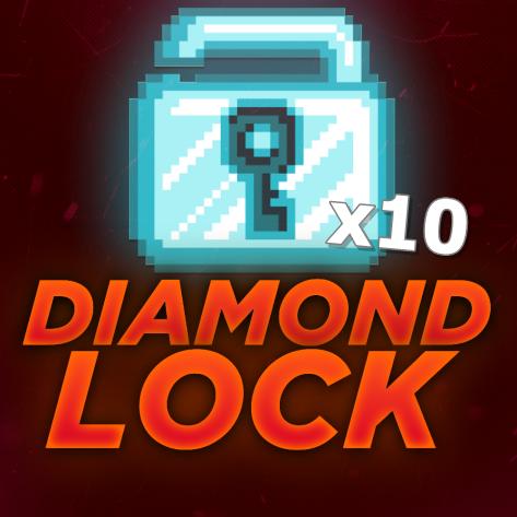 Growtopia 10 Diamond Lock!