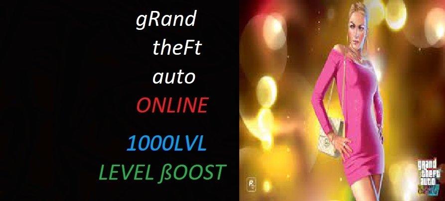 GTA 5 ONLİNE 1000 LEVEL PAKETİ