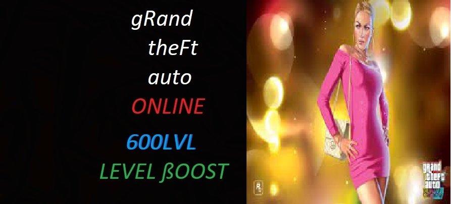 GTA 5 ONLİNE 600 LEVEL PAKETİ