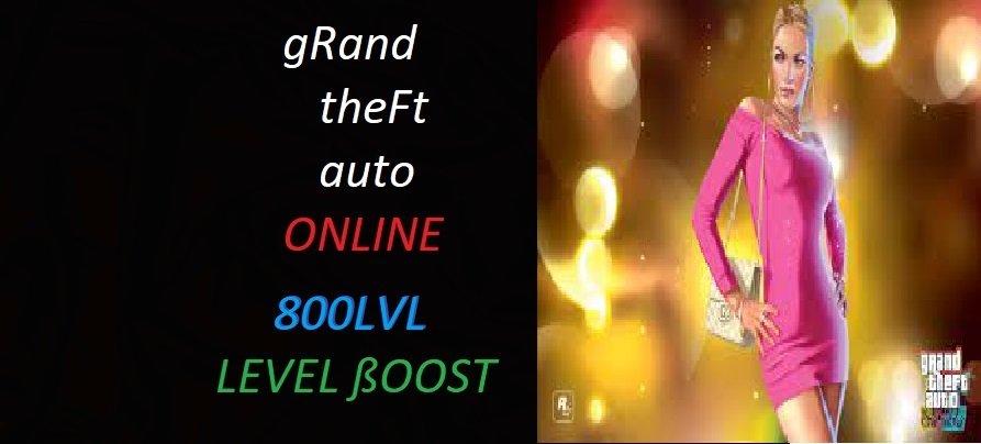 GTA 5 ONLİNE 800 LEVEL PAKETİ