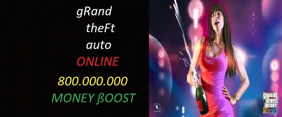 GTA 5 ONLİNE 800 MİLYON PARA PAKETİ
