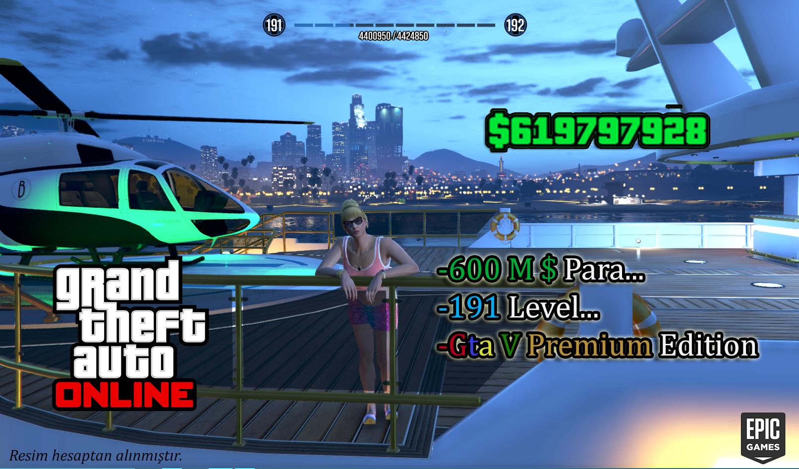 Gta V & Epic Games / 600M $ Para Ve 191 Level