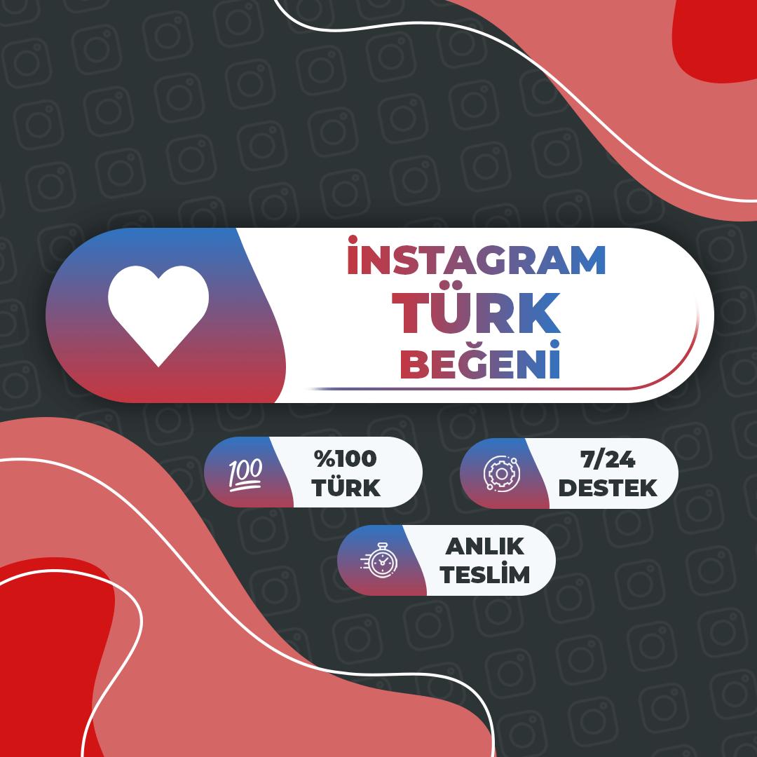 1.000 Adet İnstagram %100 Türk Beğeni