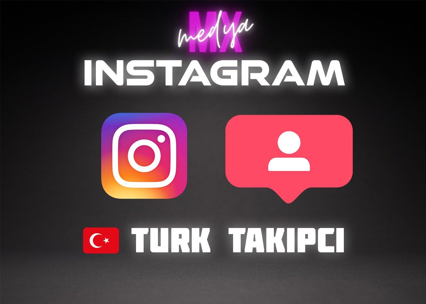 INSTAGRAM 1000 ADET TÜRK TAKİPÇİ