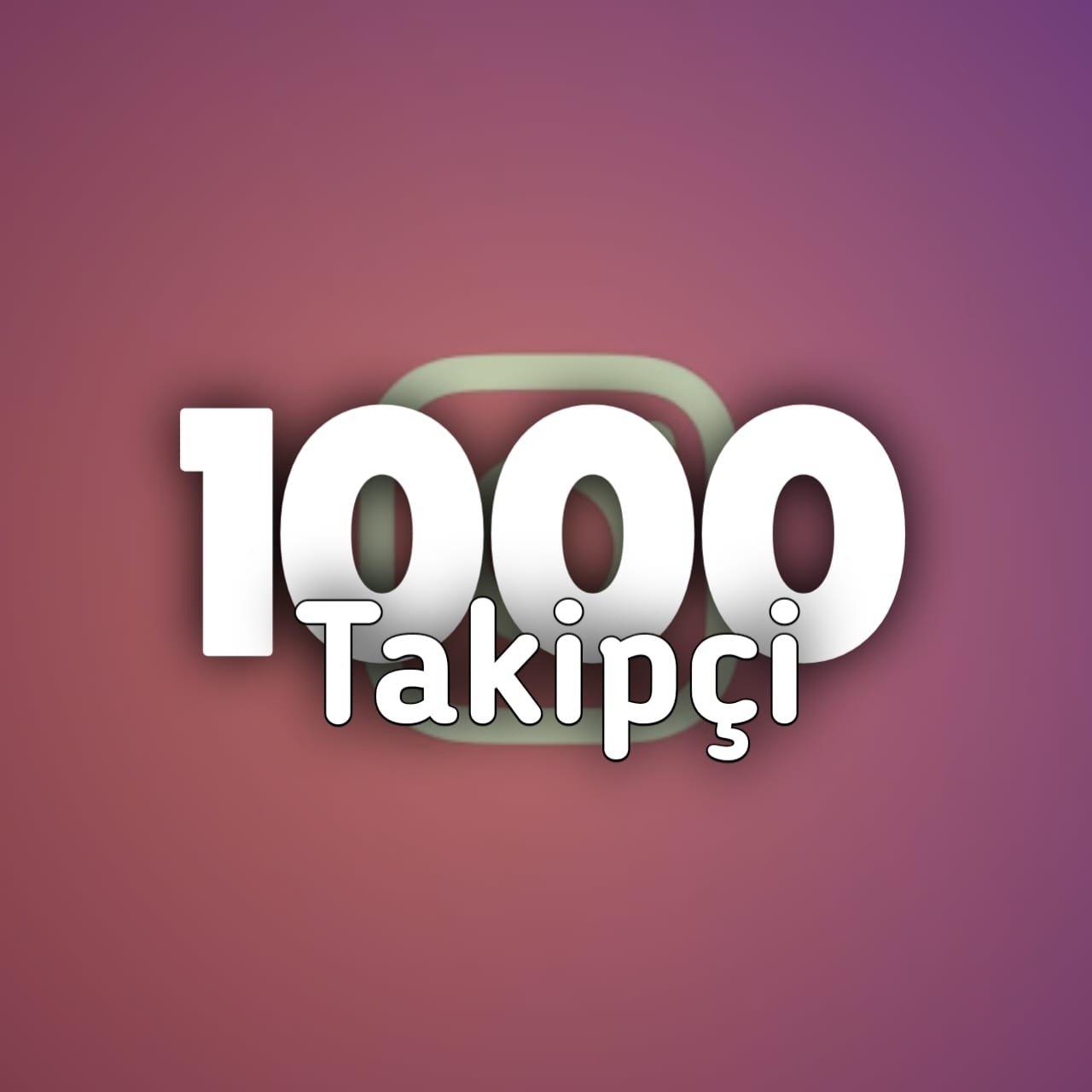 İnstagram %70 Türk Gerçek Takipçi 1K