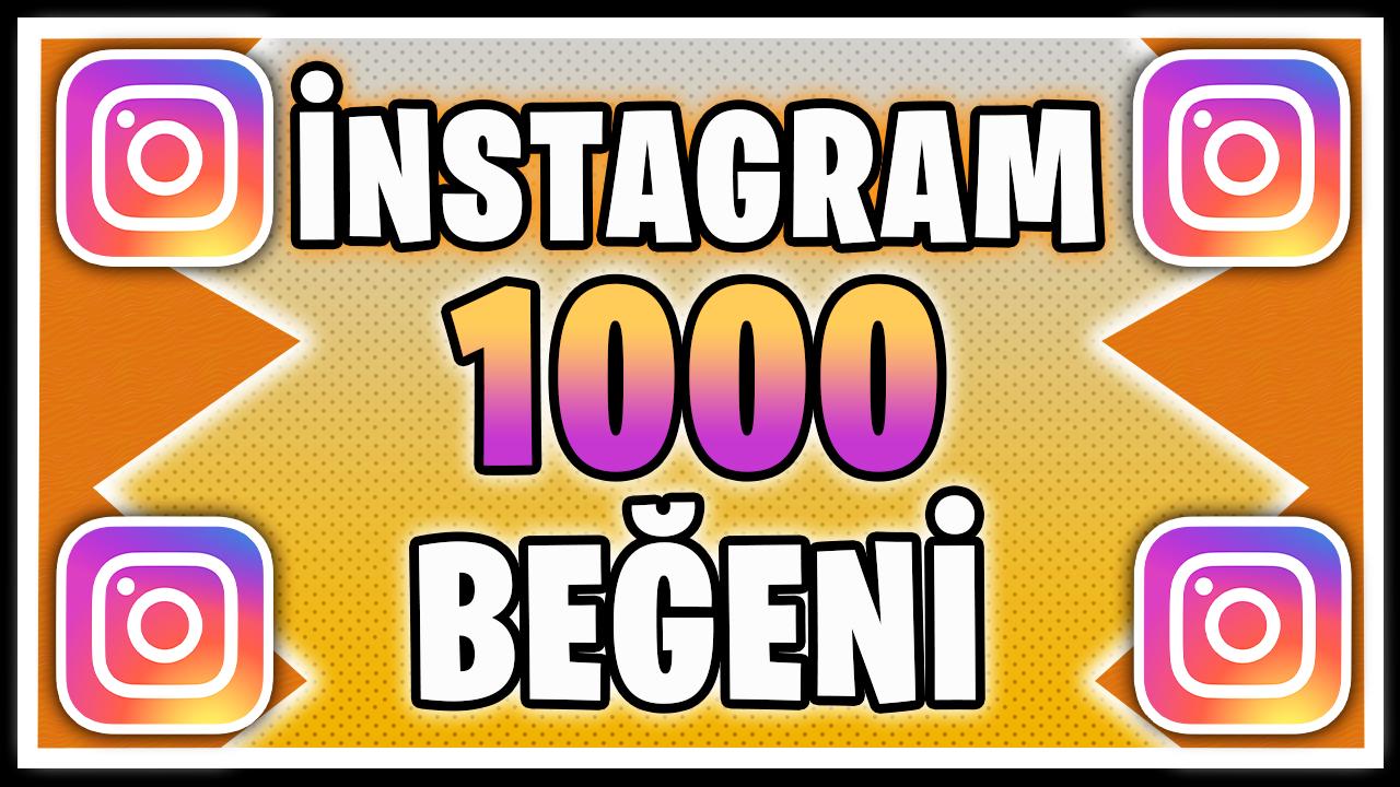 KARIŞIK 1000 BEĞENİ / HIZLI TESLİMAT / KALİTELİ