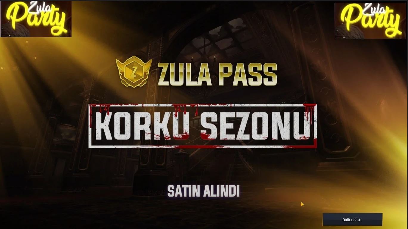 KORKU SEZONU ZULA PASS