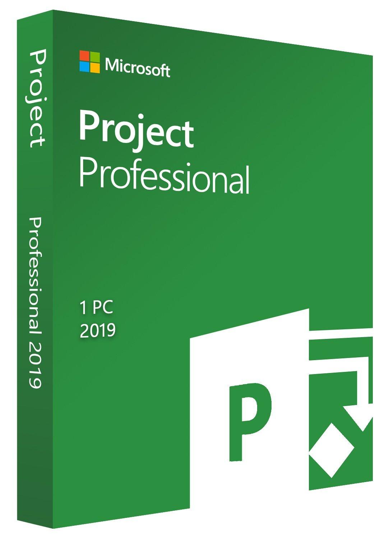 Microsoft Project 2019 / 1 PC