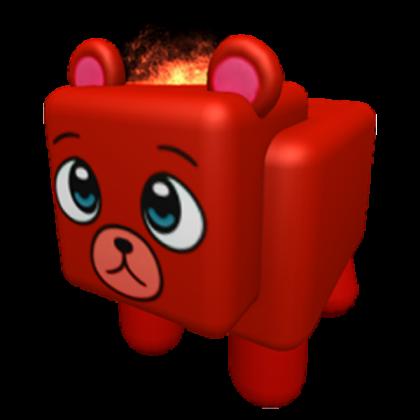 Mm2 Fire Bear Godly Pet
