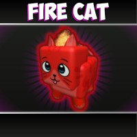 Mm2 Fire Cat Godly Pet