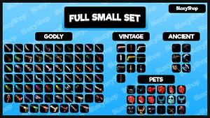 MM2 x10 Small Set& x10Pet Set[1020Godly]