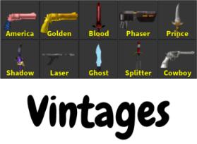MM2 Vintage Set (İNDİRİM!!)