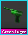 Murder Mystery Green Luger