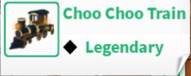 Roblox Adopt Me! Choo Choo Train