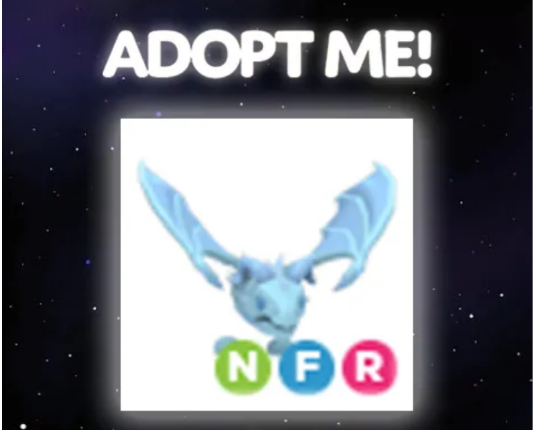 Roblox Adopt Me NFR Frost Dragon (Dev İndirim)