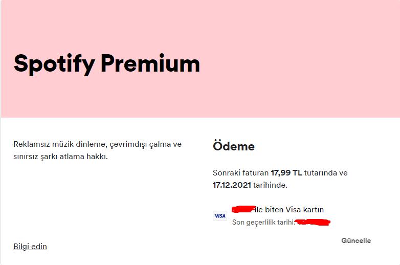 Spotify Premium İsteyenler Buraya Buyurun!