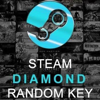 Steam Random Diamond Key
