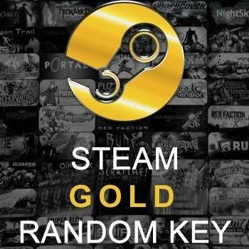 STEAM GOLD RANDOM KEY