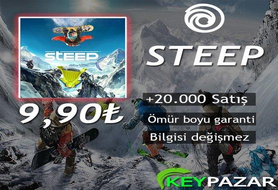 STEEP ÖMÜR BOYU GARANTİ + HEDİYELİ!